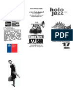 TRIPTICO HOLOJAZZ 2017-Para Imprimir 150 Copias