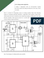 Single Phase Motor Controller for Washing Machine Application