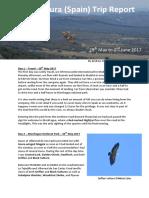 Extremadura Trip Report