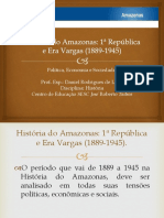 História Do Amazonas-1 Republica e Era Vargas.