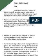 7. Soil Nailing