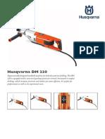 Data Sheet Husqvarna DM220 Core Drill 03-13