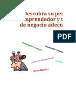 1 TEST DESCUBRA SU  PERFIL EMPRENDEDOR.xls