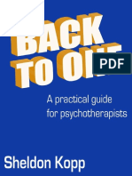 Back to One a Practical Guide