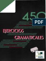 Ejercicios Gramaticales