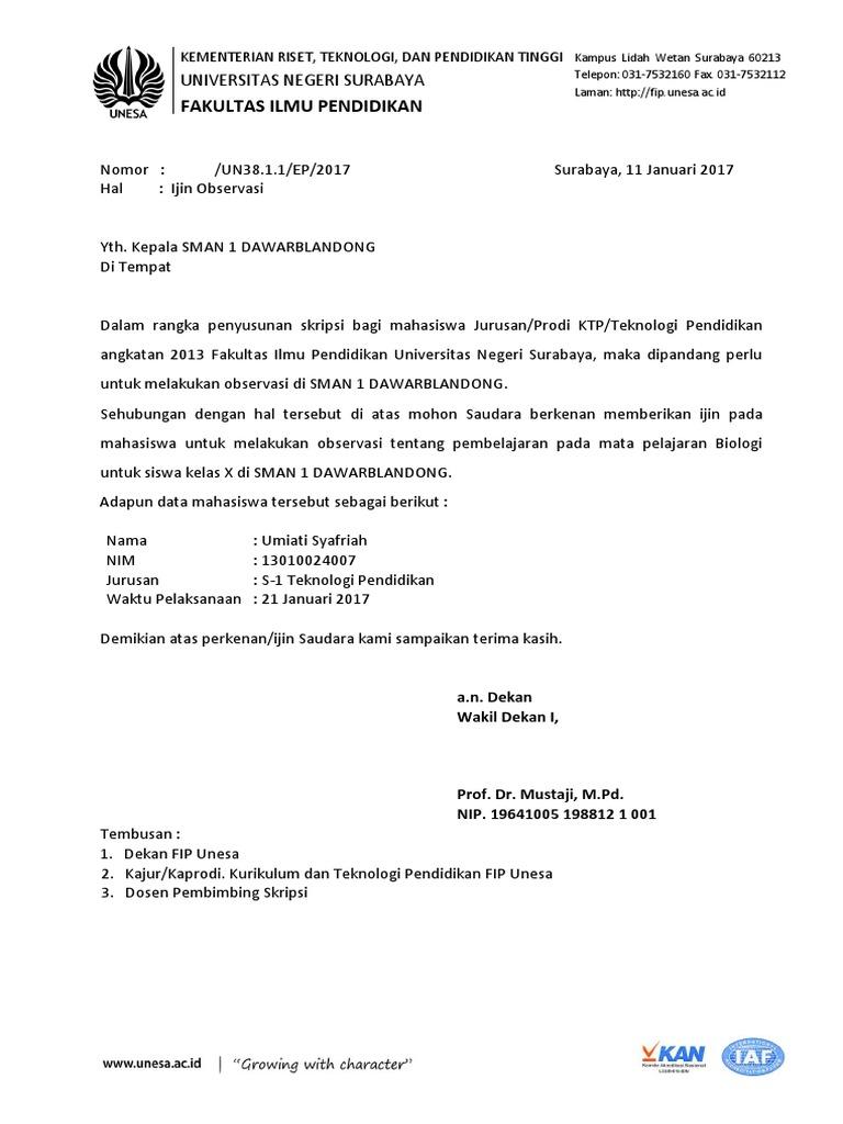 Surat Obser Skripsidocx