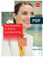Benefits of Membership 2015