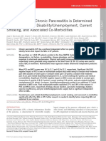 Quality of Life in Chronic Pancreatitis is Determined