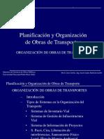 5 Organización de Obras de Transporte