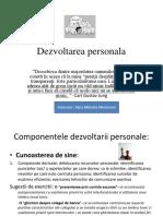 Dezvoltarea Personala.aura.Nov.2013