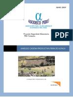 Analisis Cadena Productiva de Fibra de Alpaca