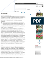 Parbode Surinaams Opinie Maandblad - De Dubieuze Reputatie Van Newmont