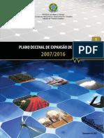 Plano de Expansão de Energia 20072016Volu1