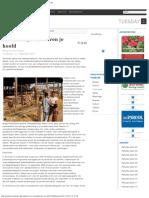 Het Dodelijk Dak Boven Je Hoofd - Parbode Surinaams Opinie Maandblad Februari 2007