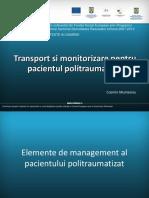 46 Transport Si Monitorizare Pentru Pacientul Politraumatizat