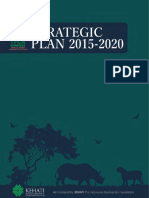 Strategic Plan TFCA Sumatera 2015 2020 Soft Copy