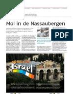 Suriname, Nederlands Dagblad - 5 November 2011 - Mol in de Nassaubergen Van Suriname