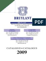 Catalog Bruylant 2009.pdf