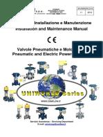 Válvulas de Controle - Uniworld Series