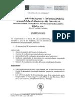 Documentacion a Presentar Comites