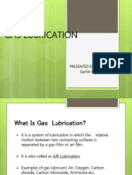 Gas Lubrication
