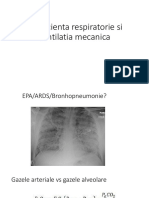 Insuficienta Respiratorie Si Ventilatia Mecanica
