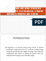 Case Study of One Patent (Composite Flywheel) From Design Point of View