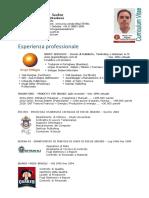 CV Gustavo Seabra Translator - Italiano > Portuguese  2017 01