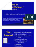 ProposalWriting II