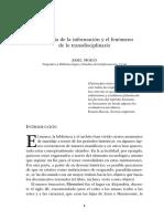 La ciencia de la información y el fenómeno de lo transdisciplinario
