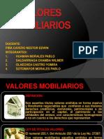 VALORES MOBILIARIOS - diapos