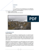 Informe de Geologia General
