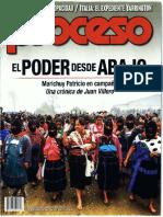 Revista-Proceso-11-11-2017 Marichuy la candidatura del pueblo
