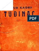 Kadri, Jakub - Tudjinac -  prvi moderni turski roman preveden u Hrvatskoj, 1940.g.