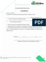Formulrio 02 Ed. Infantil Privada