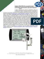 Hoja Datos Estacion Pce Fws20