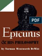 Epicurus and His Philosophy - De Witt