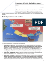 Clearias.com-India-China Border Disputes What is the Doklam Issue