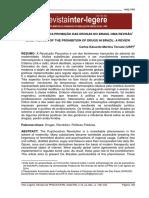 Evolucao Dos Psicotropios No Brasil