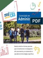 Brochure Licenciatura