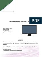 Benq g920wa g920w Service Manual