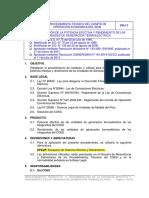 17 Determinación de La Potencia Efectiva y Rendimiento de Las Unidades de Generación Termoeléctrica (1)
