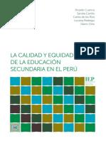 Cuenca Carrillo Calidad Equidad Educacion Secundaria