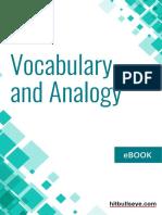 Vocabulary Analogy eBook