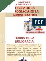 Teoria de La Burocracia-2017-I