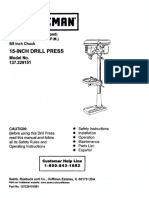 Craftsman Drill Press User Manual.pdf