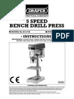33662ins Draper Drill Manual