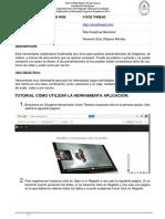 tutorial voice thread pdf raul geovy