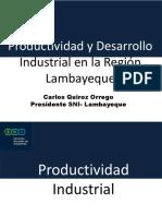 Exposicion Potencialidades de La Region Lamabyeque