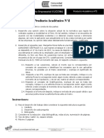 Producto Academico No. 2 - Derecho Empresarial II